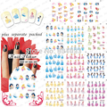 BeautyNailArt  90Sheet/LOT Beautiful Princess Cartoon Nail Art sticker Design nail accessories/nail water Nail art  KADS NAILART