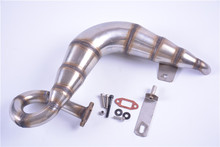 High torque pop sound exhaust pipe Power lift exhaust pipe for Losi 5ive-T Rovan LT KM-X2 DTT