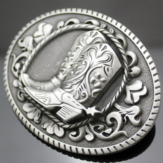 Vintage Argent Western Cowboy Cowgirl Bottes Chaussures Éperon Rodeo Boucle  de Ceinture Ligne De Danse Cadeau d6c6e8ee80c