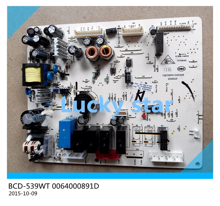 95% new for Haier refrigerator computer board circuit board BCD-539WT 0064000891D driver board good working 95% new for lg refrigerator computer board circuit board bcd 205ma lgb 230m 02 ap v1 4 050118driver board good working