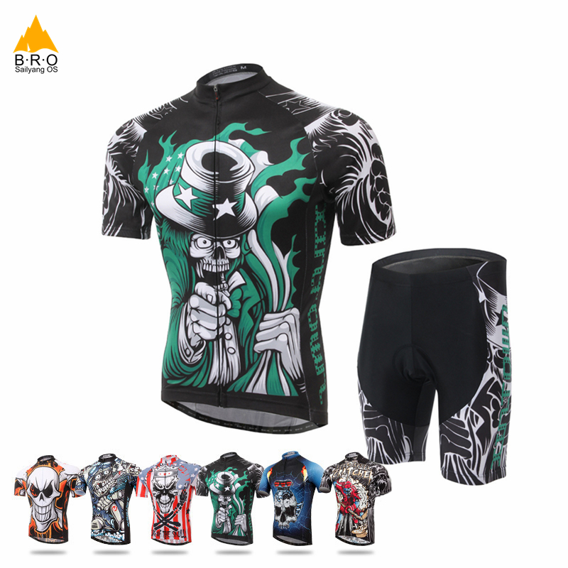 Breathable Bicycle Cycling Jersey Set Quick-drying Bicycle Cycling Clothing Summer Bike Jersey Shirt Shorts Cycling Equipment