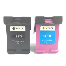 2Pcs Cartridge For HP 122 Ink HP122 Deskjet 1510 1050A 2050A 3050A 1000 2000 3000 2050 3050 Printer