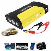 Portable 12V Car jump starter Great discharge rate Diesel power bank for car Motor vehicle booster start jumper battery