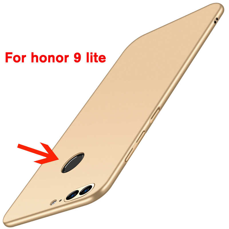 لهواوي الشرف 9 غطاء واقٍ مزخرف لهاتف آيفون غطاء كامل ماتي شل كوكه Fundas Coque on Honor 9 Honor 9 Lite Capa واقي مصد السيارة الإسكان