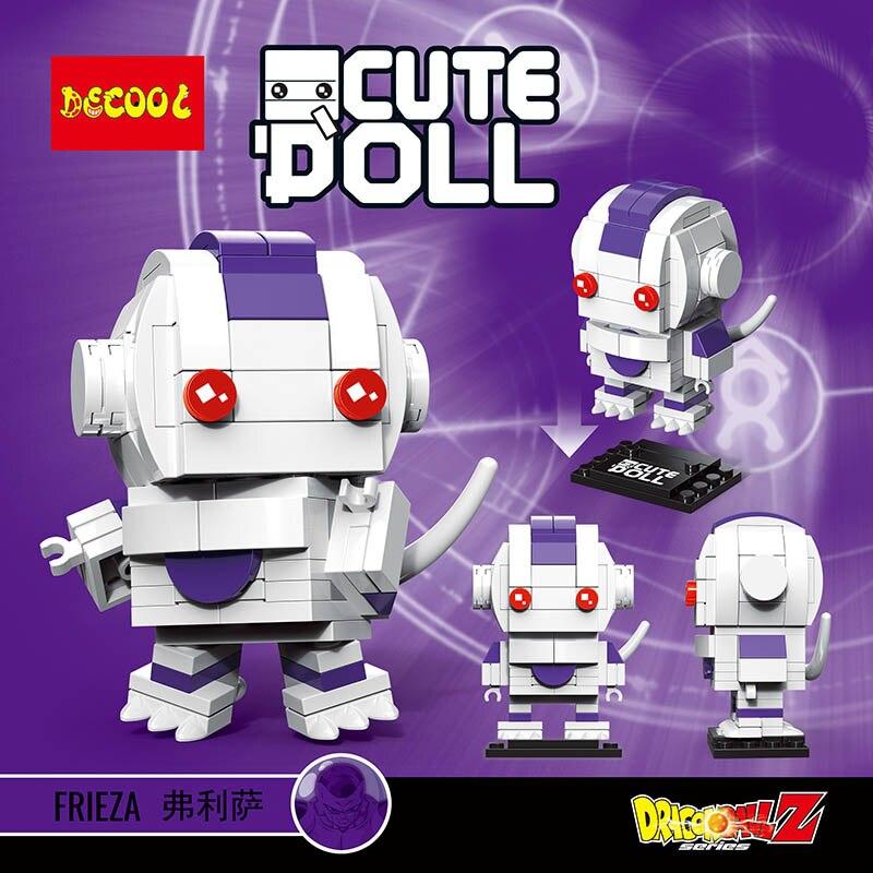 Aliexpress.com   Buy Decool compatible legoeing dragon ball z sets  brickheadz model building kits blocks bricks heads headz kids toys for  children from ... 1a11d61fce