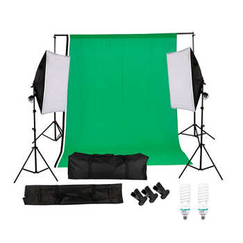 Professional Photography Photo Studio Lighting Kit 135W 5500K Daylight Studio Bulbs Photo Video Equipment Softbox Set - DISCOUNT ITEM  50 OFF Consumer Electronics