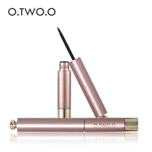 O.TWO.O Black Eyeliner Pen Liquid Eye liner Pencil Makeup Cosmetic Tool Long Lasting Waterproof Liquid Eyeliner