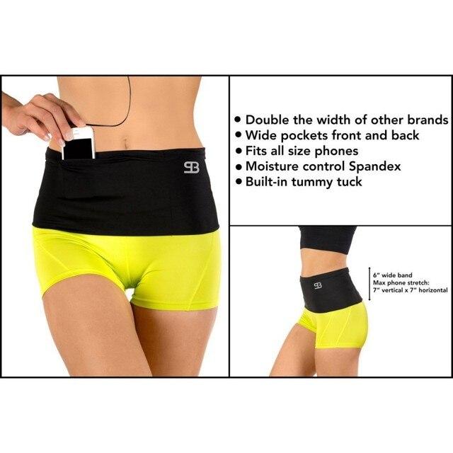 Ultra - wide sports Outdoor Running Waist Bag Gym Fitness Bag Sport Accessories 2