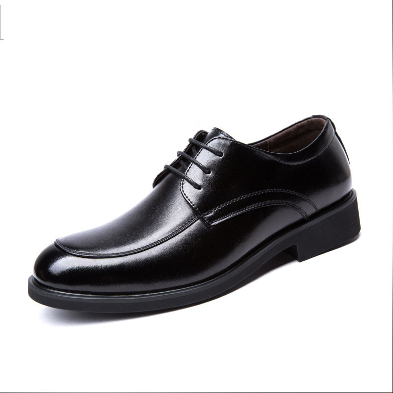 per Italian Oxfords ufficio abito Uomo di Shoes Leather marrone oxford morbido la confortevole Men Merkmak Luxury festa nero pizzo Meeting vestito per nozze wC0q4g