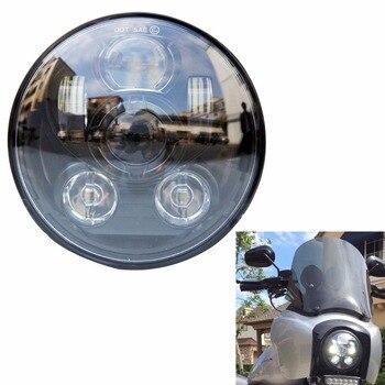 """DOT EMARK Approved 5 3/4"""" Led Headlight 5.75""""  Projector LED Headlight for Motor"""