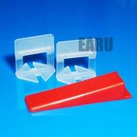500pcs Wedges 500pcs Clips 1set Plier Wall Floor Tile Leveling System Tile Accessories Leveler 1