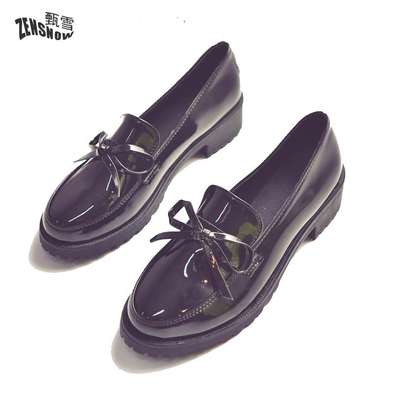 2017 New Spring Wind With All-match Ms. Loafer Shoes Fashion Female Students