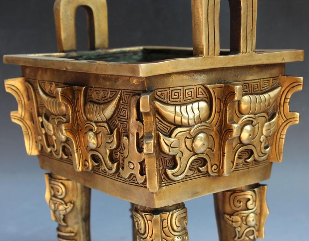 Chinese Dynasty Palace Bronze Incense Burner 3