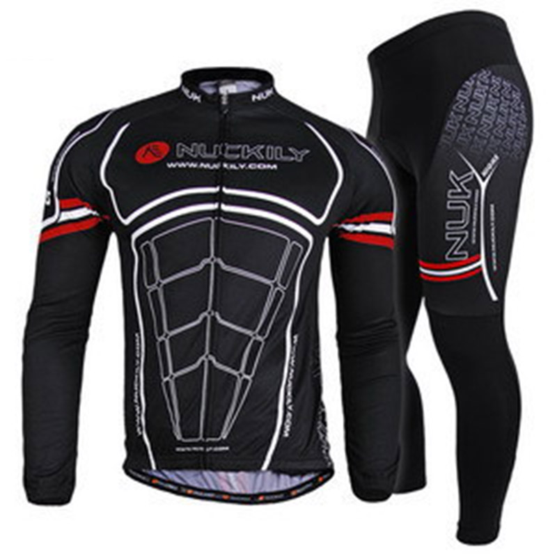 цена на Cycling Jersey Sets Bicycle Clothes Sportwear Sets winter cycling/sport jersey for Men