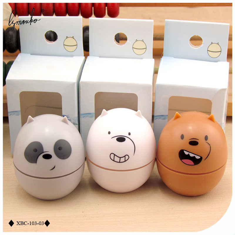 Men's Glasses Apparel Accessories Cartoon Little Bear Contact Lens Case Holder For Men And Women Fashion Cute Eye Care Contact Lens Box