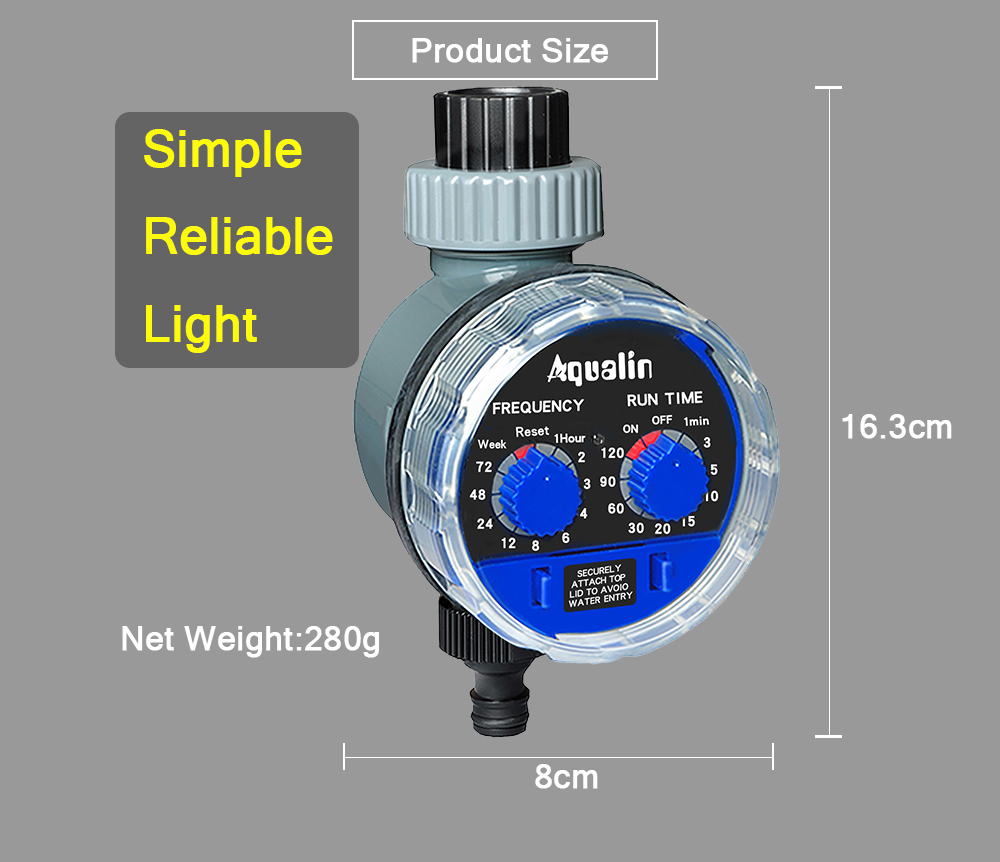 HTB1qVRJXOYrK1Rjy0Fdq6ACvVXaX Garden Watering Timer Ball Valve Automatic Electronic Water Timer Home Garden Irrigation Timer Controller System #21025