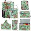 Looen пустая сумка для хранения вязания крючком и вязальными спицами DIY пряжа крючком сумка швейные инструменты аксессуары для женщин