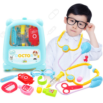 Children Doctor Set Product Baby Toys Abs Medicine Cabinet Children Simulation Doctors Pretend Play Educational Paly House Toys baby toys