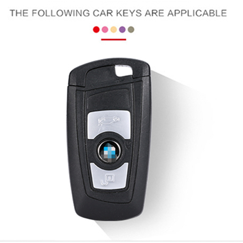 Image 4 - Car Key Case Cover Carbon Fiber For Bmw 1 3 5 7 Series X1 X3 X4 X5 X6 M3 M5 Z4 F20 F30 F10 E90 E60 E30 Car key Shell Protecor-in Key Case for Car from Automobiles & Motorcycles