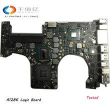 """Протестированная материнская плата для Macbook Pro 1"""" A1286 2010 материнская плата для ноутбука i7 2,66 Ghz 820-2850-A 2011 2,0 Ghz 820-2915-B 2012 2,3 GHz"""