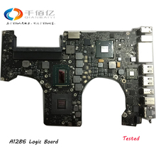 Tested Motherboard for Macbook Pro 15″ A1286 2010 Laptop Logic Board i7 2.66Ghz 820-2850-A 2011 2.0Ghz 820-2915-B 2012 2.3GHz