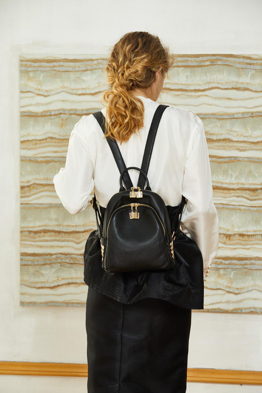 2222BOYATU Designer Backpack Super Zipper Luxury Genuine Leather Backpack Women 2017 Original Muchila Obag Sack Mochila Feminina