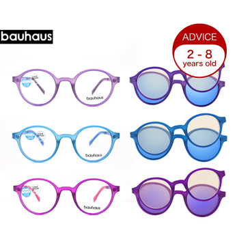 Ultem Kids Glasses Frame Round Fashion O...