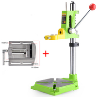 Electric Power Drill Press Stand Table For Drill Workbench Repair Tool Clamp For Drilling collet Table 90 Degrees+2.5 Flat Vise