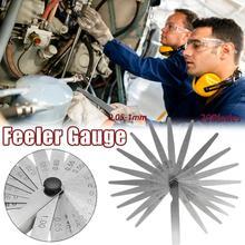1 Set Of 17/20 Blade 0.02-1.00MM Carbon Steel Metric Feeler Gauge For Gap Measurement Valve Gasket
