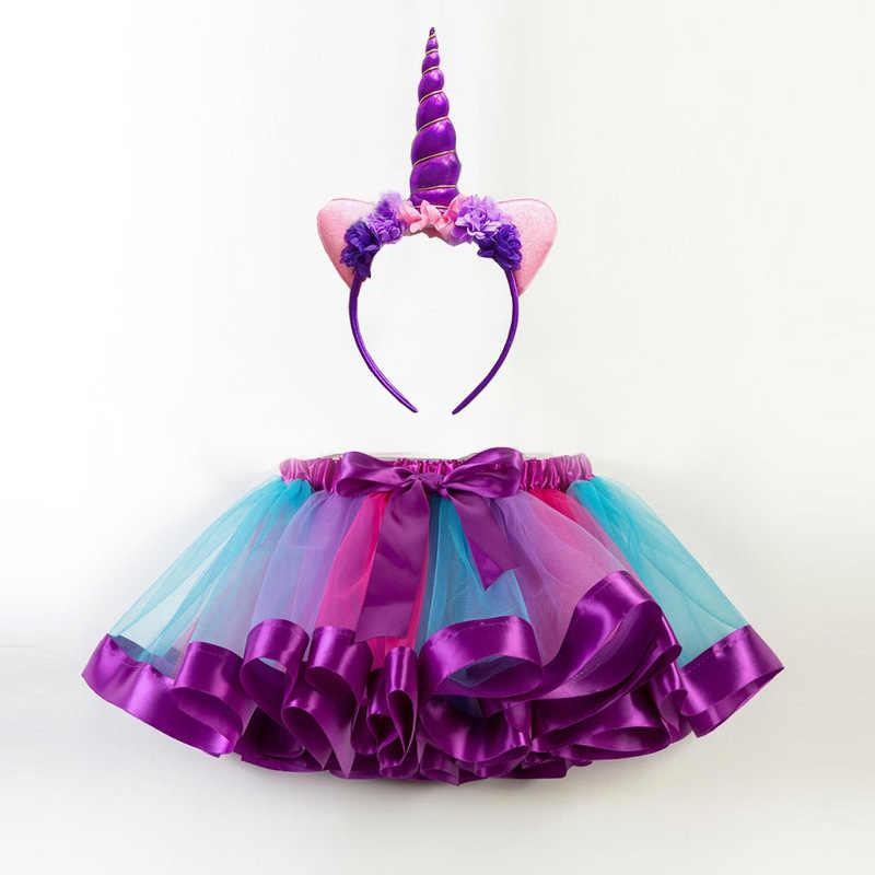 Envío Gratis accesorios princesa Mini Pettiskirt niñas Vestido de bebé fiesta baile Arco Iris tutú Vestido Niñas Ropa Vestido de niños