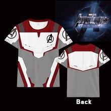 Hot Avengers: Endgame Quantum clothing T-shirt Men Women Short Sleeve Summer Unisex t shirt