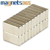 OMO Magnetics Lot 20pcs N35 Super Strong Block Bar Magnets Rare Earth Neodymium 20 x 12 x 5 mm