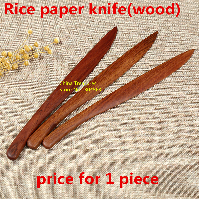 1piece,Letter Opener Rice Paper Cutter Paper Knife Painting Calligraphy Art Supplies Wood Knife
