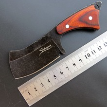Eafengrow EF102 Fixed Blade Knife 440C blade Red Wood Handle Survival Tactical Knife  Hunting Camping Pocket Knife