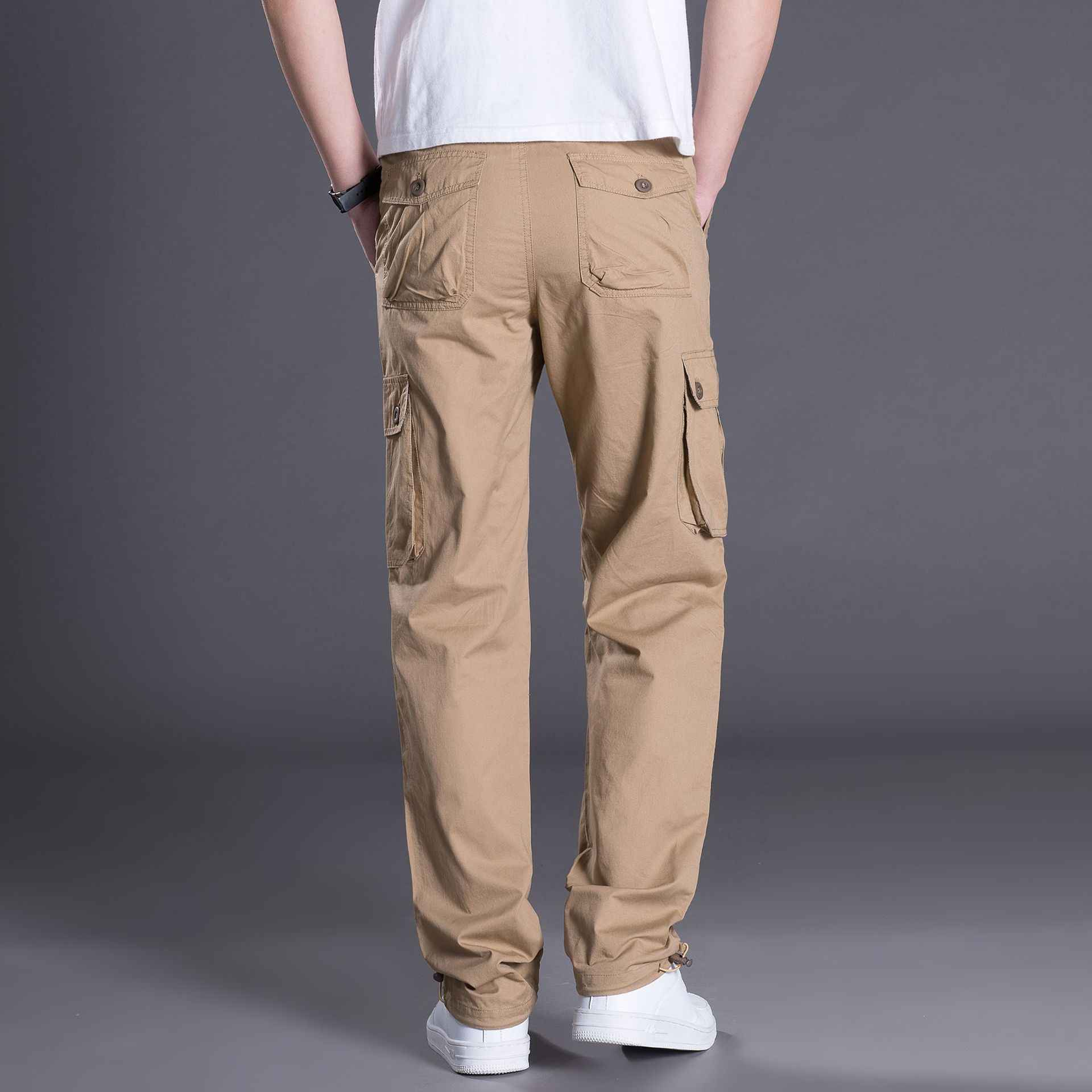768cd4b930 ... Mens Cargo Pants Male Tactical Pants Military Army Style Mens Casual  Jogger Camo Multi Pocket Baggy ...