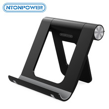 NTONPOWER Mobile Phone Holder Stand with Non-slip silicone pad and 360 degree adjustment Desktop tablet Stand Holder for xiaomi(China)