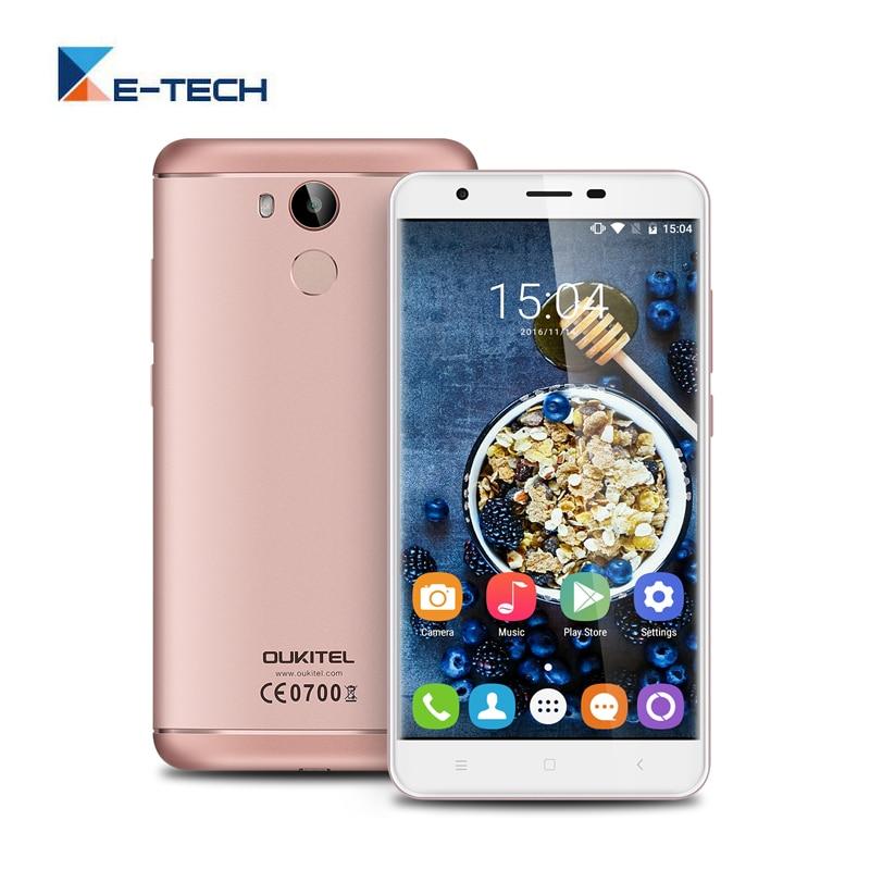 Цена за Оригинал Oukitel U15 PRO Смартфон MT6753 Octa Ядро 5.5 Дюймов 3 ГБ RAM 32 ГБ ROM Две СИМ Карты 4 Г FDD LTE отпечатков пальцев Телефона
