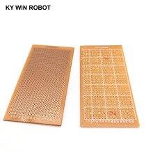 1 шт. DIY 5% 2A10 см прототип бумага медь печатная плата универсальный эксперимент матрица схема плата 5x10 см