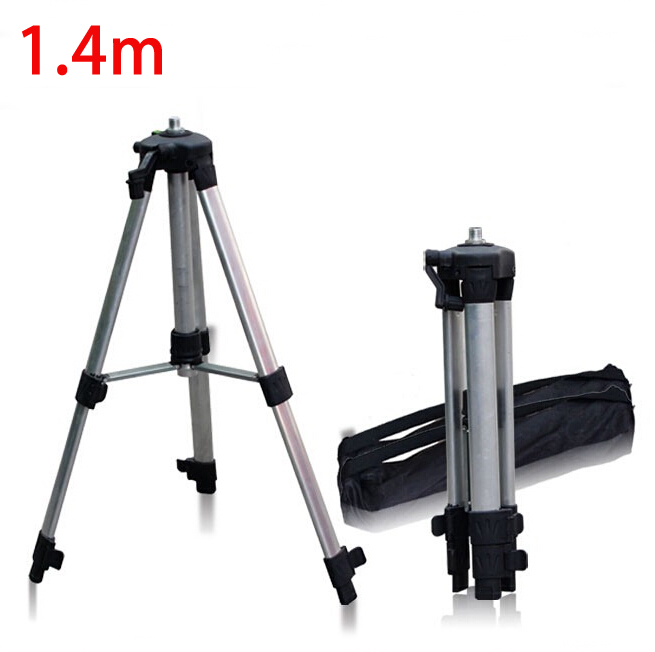 Free shipping 1.4 Aluminum Tripod, Heigiht adjustable tripod, Maximum 1.4m laser level Tripod Adjustable Tripod laser line