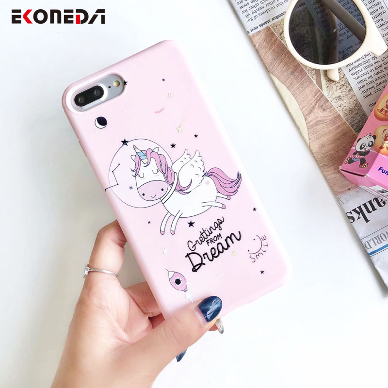 Buy EKONEDA Cute Glitter Unicorn Case