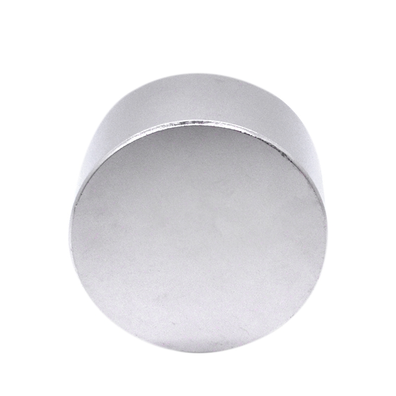 Image 2 - 1Pcs N52 Neodymium Magnet 50X30Mm Gallium Metal Super Strong Magnets 50x30 Big Round Powerful Permanent Magnetic 50 X 30 Magne-in Magnetic Materials from Home Improvement