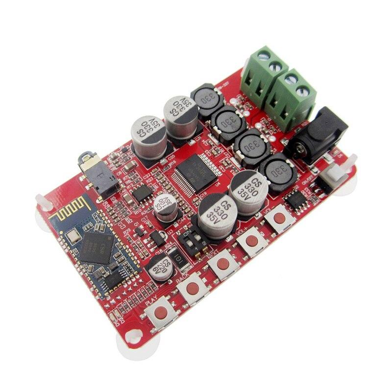 1pcs/ lot Wireless Bluetooth 4.0 Audio Receiver Digital TDA7492P 25W+25W Amplifier Board