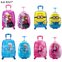 Kids Suitcase Children Travel Trolley Suitcase wheeled suitcase for kids Rolling luggage suitcase Child Travel Luggage bags cas