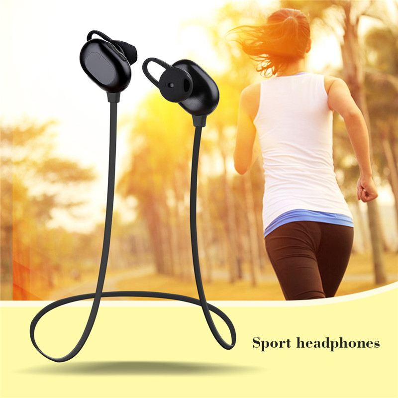 Haissky Sport Headphone Stereo Wireless Bluetooth Earphone For iPhone X 8 7 Plus 6 6S Huawei P10 P9 Samsung S8 Note 8 earphones remax bluetooth v4 1 wireless stereo foldable handsfree music earphone for iphone 7 8 samsung galaxy rb 200hb