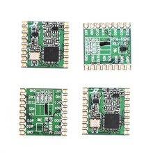 4 pçs/lote RFM69HC RFM69HCW 100nW freqüência transceptor módulo 433MHZ 868MHZ 915MHZ pode ser selecionado
