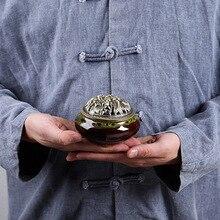 13 цветов керамические горелки для благовоний портативный Курильница держатель для дома гостиная украшение Йога благовония подарок