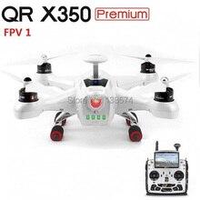 Walkera QR X350 Premium Quadcopter Drone dengan DEVO F12E stasiun tanah FPV1