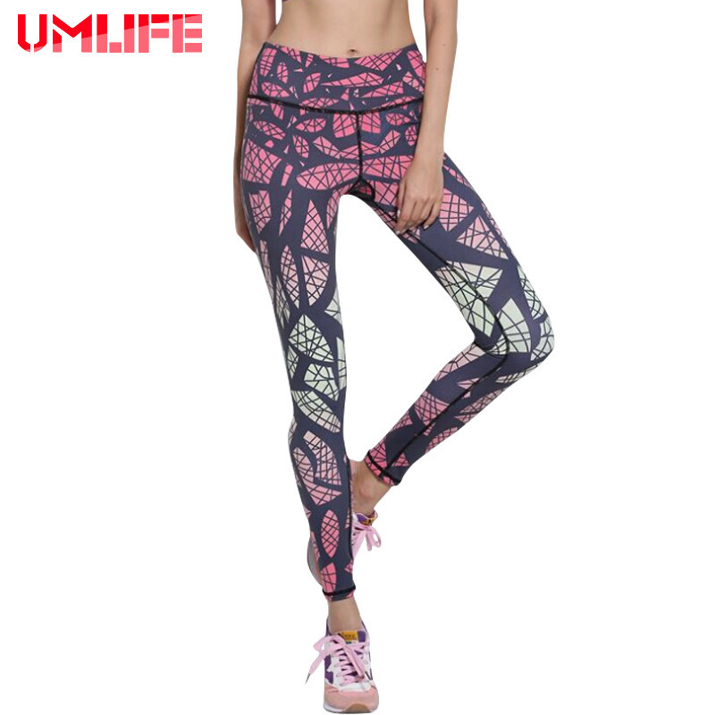 Women Gradient Print Yoga Pants High Elastic Stretch Sport Leggings Gym Workout Fitness Compression Pants Women Running Tights