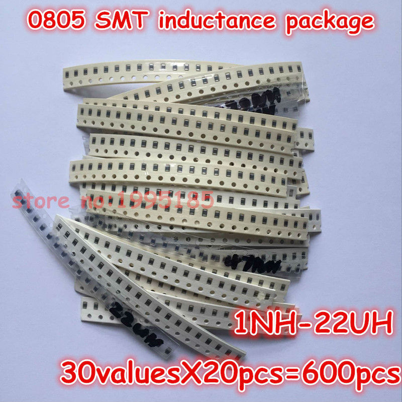 22uH 1nH FAST DELIVERY 0805 SMD INDUCTORS 30 VALUES 5-10 Pcs