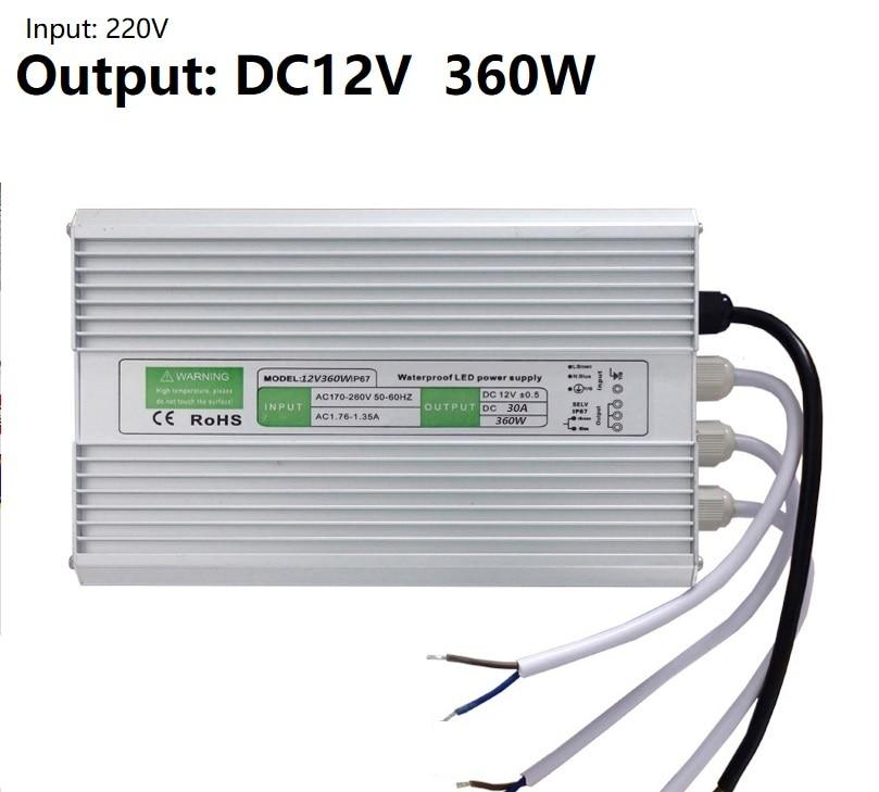 Wide Input Range LED Power Supplier DC12V/24V 350Watt / Cross: HVG-320-24B MeanWell / 2.7KG/ Dimmable LED Driver kvp 24200 td 24v 200w triac dimmable constant voltage led driver ac90 130v ac170 265v input
